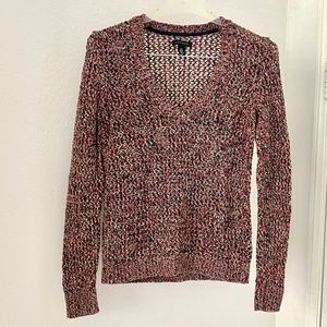 Tommy Hilfiger Multicolored V-neck Sweater S/P